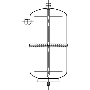 Ricevitori di liquido verticali