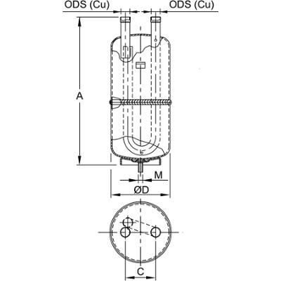 Separatore di liquido dimensioni